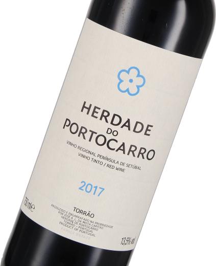 """2016 Vinho Tinto Regional Península de Setúbal """"Herdade do Portocarro"""" Herdade do Portocarro"""