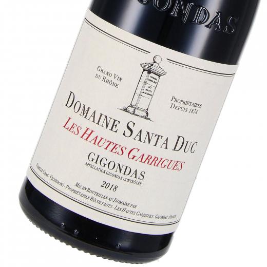 2018 Gigondas AOP Les Hautes Garrigues, Domaine Santa Duc