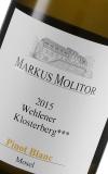 "2015 Pinot Blanc ""Wehlener Klosterberg ***"" Magnum, Weingut Markus Molitor, Mosel"