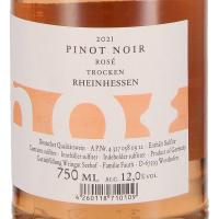 2020 Pinot Noir Rosé trocken, Weingut Seehof/Florian Fauth, Rheinhessen