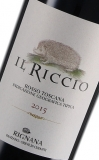 """2015 Rosso Toscano IGT """"Il Riccio"""", Fattoria di Rignana"""
